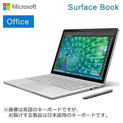 マイクロソフト Surface Book 13.5インチ Windowsタブレット 1TB 16GB Core i7 サーフェス ブック PA9-00006