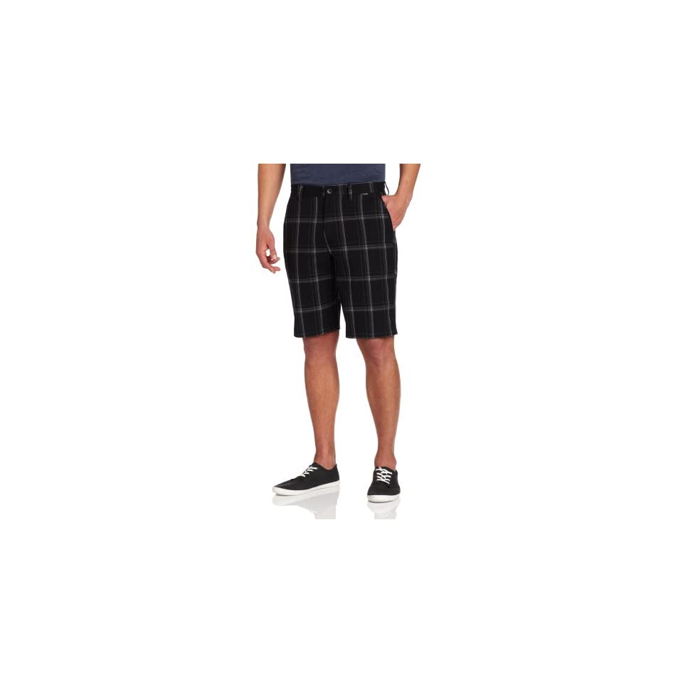 Hurley Mens Puerto Rico Plaid Trouser Walk Short