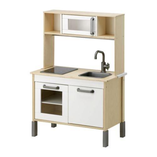 IKEA-Minikche-Duktig-INKL-Oberteil-MITWACHSENDE-Spielkche-aus-Holz-ab-3-Jahre