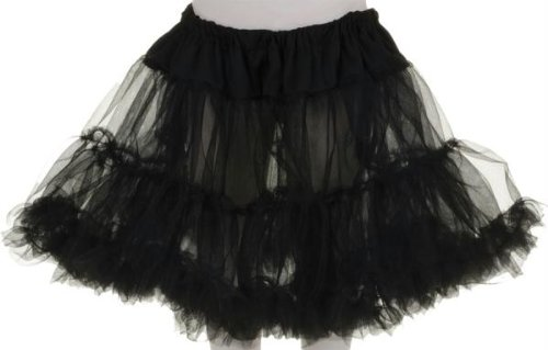 Costumes for all Occasions UR25842 Petticoat Tutu Child Black