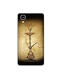 Yureka A0 5510 nkt02 (90) Mobile Case by Mott2 - Ancient Hookah Style - Seesha (Limited Time Offers,Please Check the Details Below)