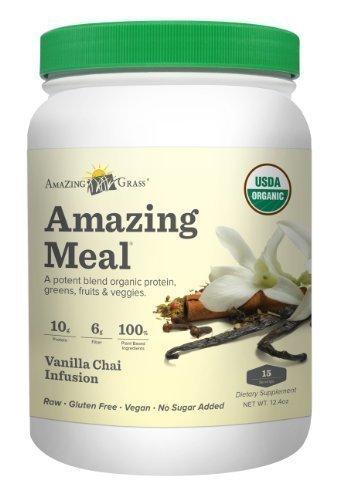 Amazing Grass - Vanilla Chai Amazing Meal - 15 Servings