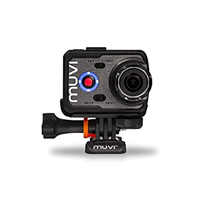 Veho Muvi VCC-006 K-Series K2NPNG 1080p Wi-Fi Handsfree Camcorder (Case Bundle)