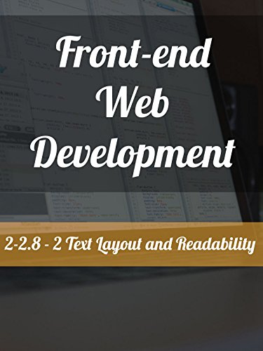 2-2.8 - 2. Text Layout and Readability