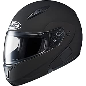 HJC Solid Men's CL-MAX II Bluetooth Sports Bike Motorcycle Helmet - Matte Black / Large from HJC