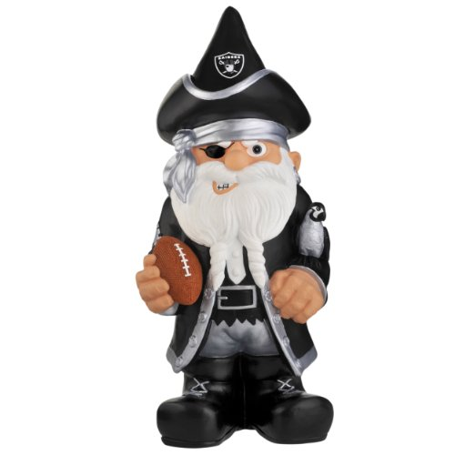 NFL Oakland Raiders Team Thematic Gnome