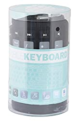 Nesco USB Silicon Foldable Keyboard (Black and Grey)