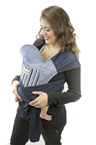 Maman Kangourou Asiatik Mei Tai Soft Baby Carriers, Blueberry - 1