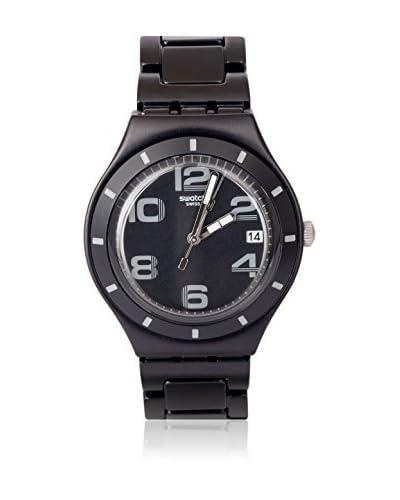Swatch Reloj de cuarzo Man ONLY BLACK YGB4008AG 38 mm