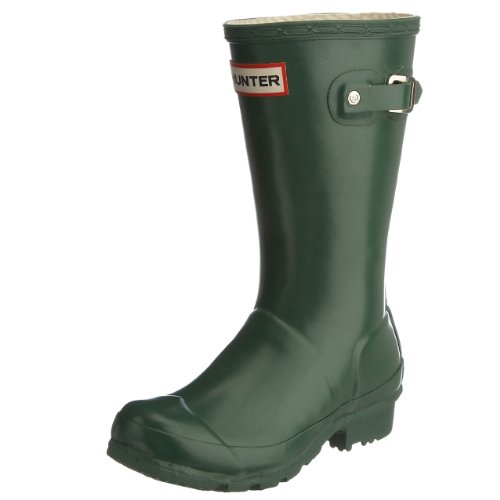 Hunter Junior Young Hunter Original Wellies Green W23500 7 Child UK