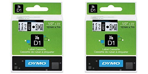 45013-d1-black-print-white-ta-pe-1-2in-x-23ft-2-packs