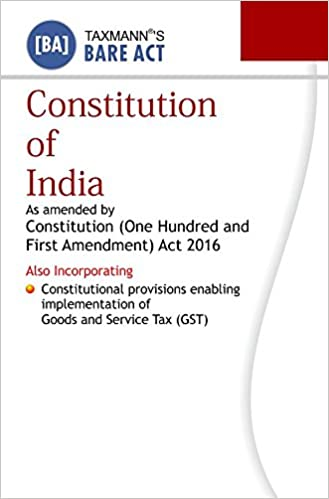 Constitution of India (Bare Act) (2016 Edition)