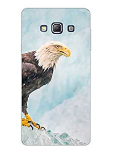 Eagle - Top Of The Game - Hard Back Case Cover for Samsung A7 - Superior Matte Finish - HD Printed Cases and Covers
