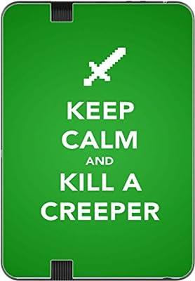 Keep Calm Kill Creepers Art Kindle Fire HD 7 Vinyl Decal Sticker Skin by MWCustoms