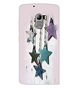 PrintDhaba Stars D-2382 Back Case Cover for LENOVO K4 NOTE A7010a48 (Multi-Coloured)
