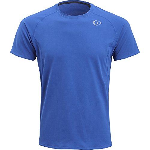 (シースリーフィット)C3fit ストリームフィットTシャツ(MEN'S) 3F45102 B ブルー M