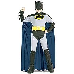 Batman Classic Halloween Costume Children-USA Size 4-6 (Ages 3-4)