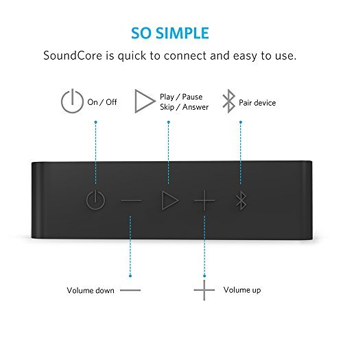 Anker-SoundCore-Bluetooth-Speaker-with-24-Hour-Playtime-66-Foot-Bluetooth-Range-Built-in-Mic-Dual-Driver-Portable-Wireless-Speaker-with-Low-Harmonic-Distortion-and-Superior-Sound-Black