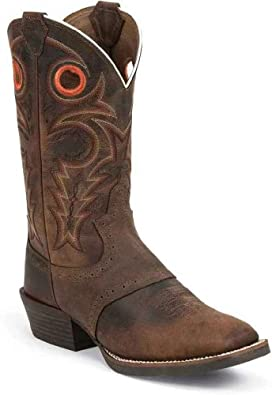 Buy Justin Boots Mens Aqha Collection Boot by Justin