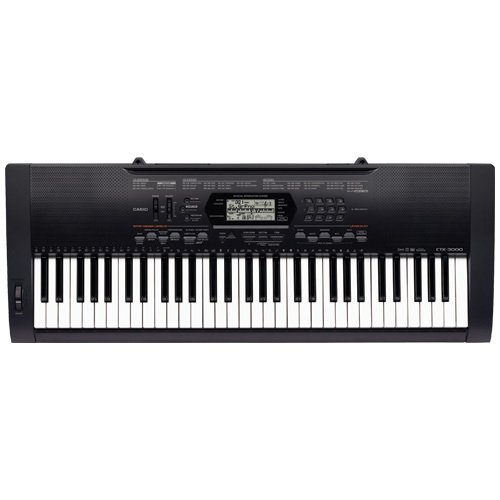 Casio CTK-3000AD Touch Sensitive Keyboard - Black