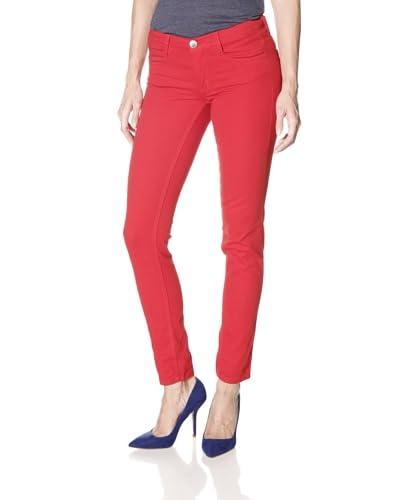 MILK26 Women's Skinny Jean  - Crimson