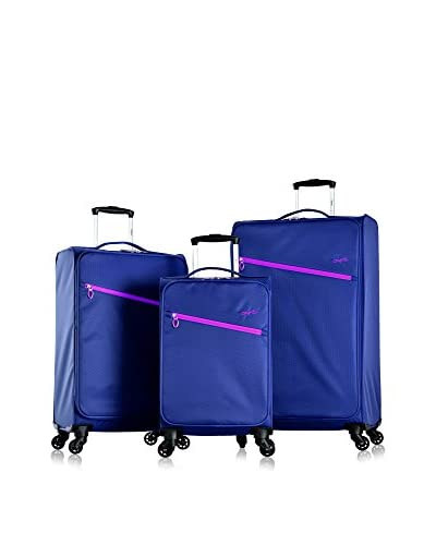 Olympia Cloud Ultralight 3-Pc Spinner Set, Royal Blue As You See