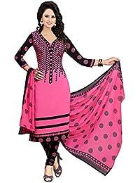 Aarvicouture Women's Cotton Unstitched Salwar Suit Dress Material - B071KP3JGG