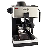Mr. Coffee ECM160 4-Cup Steam Espresso Machine, Black from Mr. Coffee