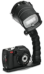 SeaLife DC1400 Pro 14MP HD Underwater Digital Camera with Flash & Flex Arm Bracket