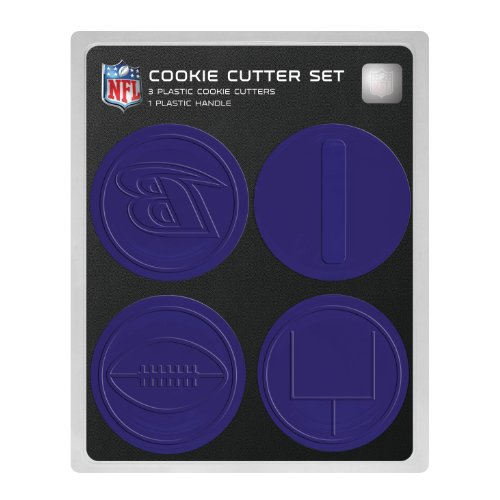 NFL Baltimore Ravens Officially Licensed Set of Cookie Cutters