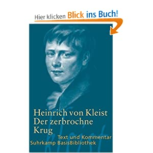 eBook Cover für  Der zerbrochne Krug Ein Lustspiel Berlin 1811 Suhrkamp BasisBibliothek