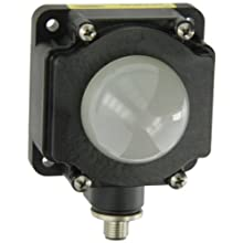 Banner K80LGRYA120Q EZ Light Multi Color General Purpose Indicator Light, NPN Input Type, 50mm Dome Housing Style, Green/Red/Yellow Light Functions, DIN Rail Mounting Barrel, 85 to 130VAC Supply Voltage