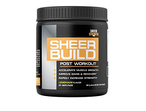 SHEER-STRENGTH-RECOVERY-Build-Muscle-With-The-1-Best-Post-Workout-Supplement-Science-Backed-Formula-With-Premium-BCAAs-Creatine-Monohydrate-Glutamine-and-L-Carnitine-486-grams-30-servings