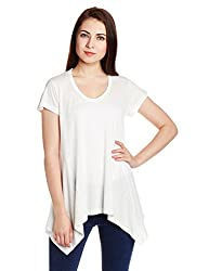 Chemistry Women's Body Blouse Top (C16-124KTTOP_White_X-Small)