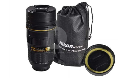 Nikon zoom lens nikon coffee mug 24 70 with working zoom Nikon camera lens coffee mug
