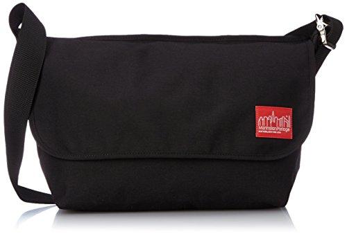 manhattan-portage-1607v-vintage-messenger-bag-large-unisex-erwachsene-messengerbag-schwarz-black-l
