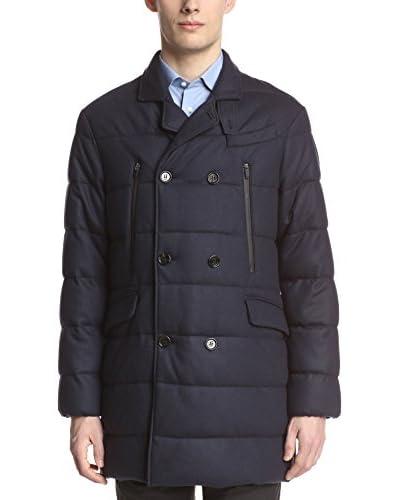 Allegri Men's Double-Breasted Wool Puffer Coat