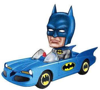 Buy Low Price Funko Batman Batmobile Bobble Car Figure (B003FYCN3K)
