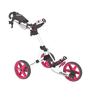 Clicgear Model 3.5+ Golf Cart, Arctic/Pink
