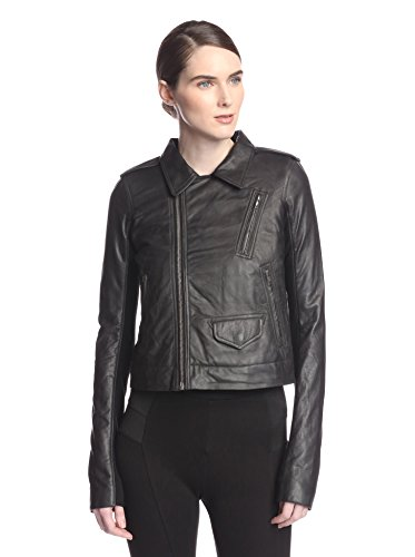 Rick Owens Women's Stooges Perfecto Leather Jacket
