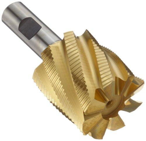 """Single End 3//8/"""" Shank 3//8/"""" Length of Cut 2-5//16/"""" Overall Length 4 Flute M42 Cobalt Kodiak USA Made 1//8/"""" Diameter End Mill"""