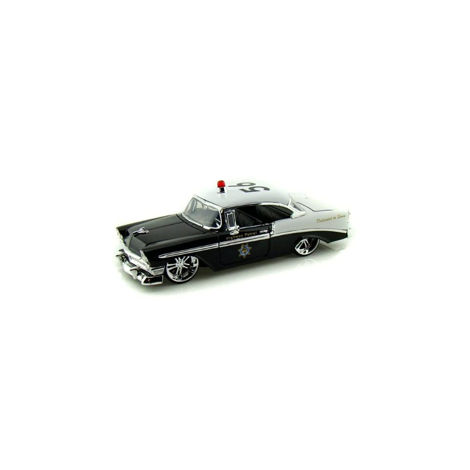 Jada 1/24 1956 Chevy Bel Air Police Car