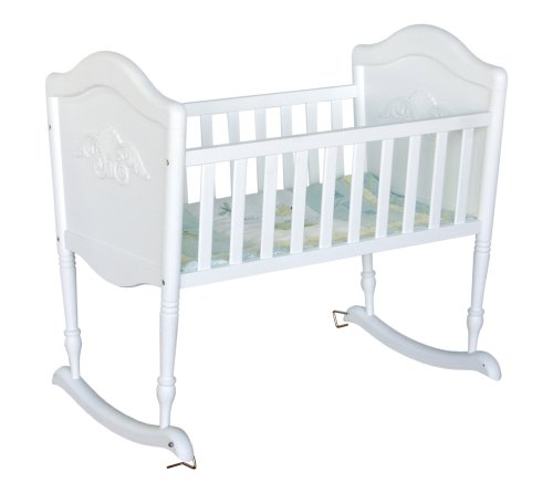 Read About DaVinci Chloe Cradle in White