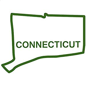 USD20 Amazon Gift Card Wedding Registry : Amazon.com - Connecticut State Outline Decal Sticker (green, 15 inch ...