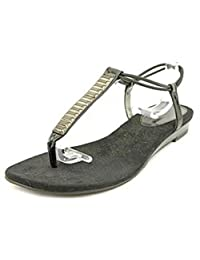 Style & Co Marle Womens Size 7.5 Black Thongs Sandals