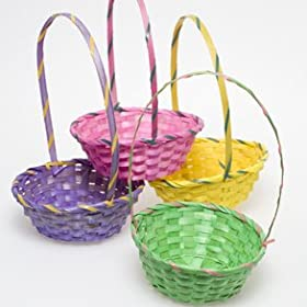 Deluxe Bamboo Easter Baskets