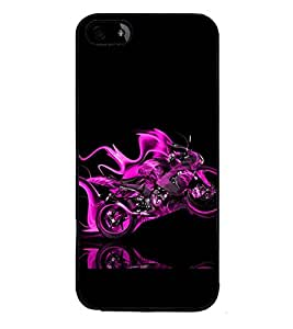 PRINTSWAG STUNT BIKE Designer Back Cover Case for APPLE IPHONE 4S