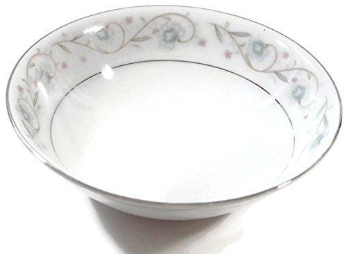 English Garden Fine China by Japan Coupe Cereal Bowls 6 3/8