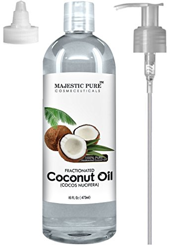 Majestic Pure Fractionated Coconut Oil, 16 Oz.
