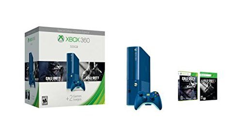 Xbox 360 500GB Special Edition Blue Console Bundle